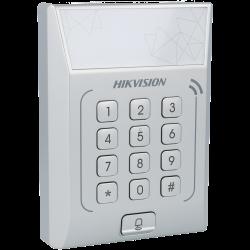 Controlo de acessos interior com leitor de cartões e teclado tipo mifare 13.56mhz