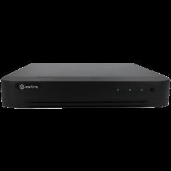 Kit HD-CVI FULLHD 1 Câmara Int/Ext Zoom Optico com Gravador Hibrido FullHD 4 Ch. HDMI
