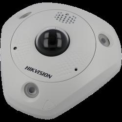 Câmara HIKVISION PRO fisheye ip de 12 megapixels e lente fixa