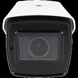 Câmara Bullet IP ONVIF Exterior IP66 de 2 Megapíxeles com Visão Noturna 40M e Optica Varifocal