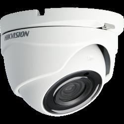 Câmara HIKVISION PRO dome 4 em 1 (cvi, tvi, ahd e analógico) de 5 megapixels e lente fixa