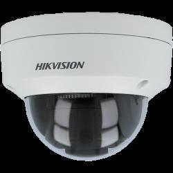 Câmara bullet IP HIKVISION exterior IP66 de 2 Megapíxeles com visão noturna 30M, lente varifocal e grvação SD