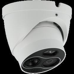 Câmara cubo IP HIKVISION interior de 2 Megapíxeles com visão noturna, lente fixa grande angular, gravação SD e WIFI