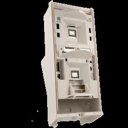 Câmara bullet IP ONVIF exterior IP66 de 4 Megapíxeles com visão noturna 20M e lente fixa