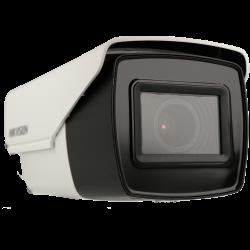Câmara HIKVISION PRO bullet 4 em 1 (cvi, tvi, ahd e analógico) de 8 megapixels e lente zoom óptico