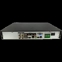 Gravador 5 em 1 (hd-cvi, hd-tvi, ahd, analógico e ip) DAHUA de 4 canais e 2 mpx de resoluçao máxima