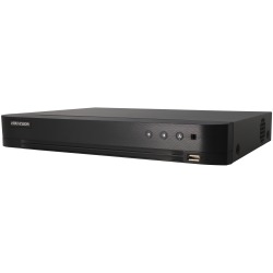 Gravador 5 em 1 (hd-cvi, hd-tvi, ahd, analógico e ip) HIKVISION PRO de 4 canais e 2 mpx de resoluçao máxima