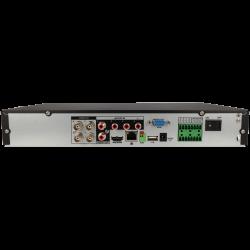 Gravador 5 em 1 (hd-cvi, hd-tvi, ahd, analógico e ip) DAHUA de 4 canais e 8 mpx de resoluçao máxima
