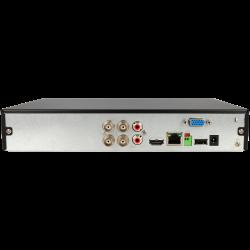 Gravador 5 em 1 (hd-cvi, hd-tvi, ahd, analógico e ip) DAHUA de 4 canais e 1 mpx de resoluçao máxima