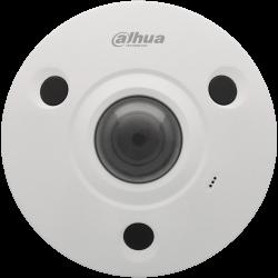 Câmara DAHUA fisheye ip de 12 megapixels e lente fixa