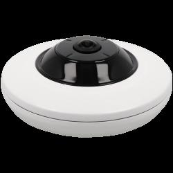Câmara HIKVISION fisheye ip de 5 megapixels e lente fixa